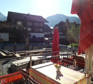 Die Baustelle nebenan die Sonnigen Hotel und Restaurant