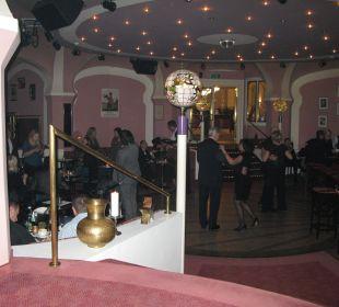 Der Ballsaal zu Silvester Hotel Panhans