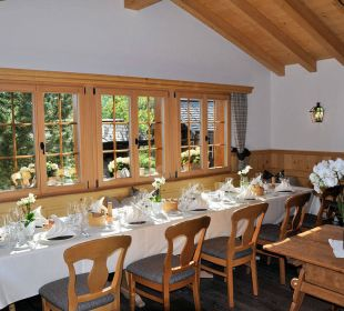 Restaurant (Kleiner Saal) Romantik Hotel Hornberg