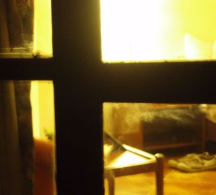 Schmutzige Fenster mal anders Hotel Holiday Inn Resort Goa