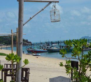 Strand Richtung Pier Samui Buri Beach Resort & Spa
