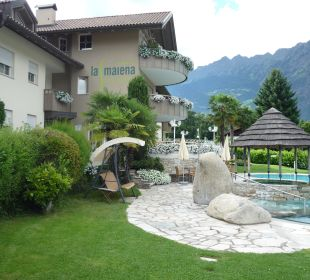 Residence e piscina esterna! Hotel La Maiena Meran Resort