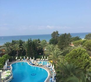 Unser Blick vom Zimmer Hotel Side Sun