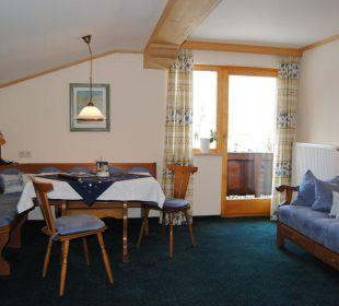 Wohnbeispiel 3-Raumwohnung Gästehaus Schwemmbauer