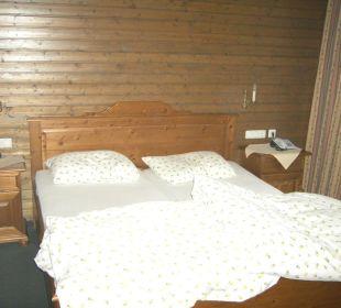 Schlafzimmer Forsthaus Graseck (Vorgänger-Hotel – existiert nicht mehr)
