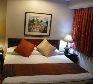 Unser bequemes Bett Hotel Siam Heritage