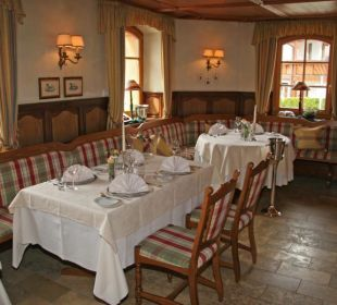 Unser Feinschmeckerrestaurant Hotel Hirsch