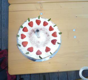 Geburtstagstorte von der Meisterköchin Almhütten Moselebauer