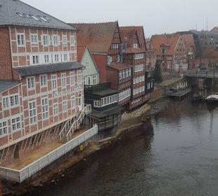 Ausblick alter Hafen Romantik Hotel Bergström