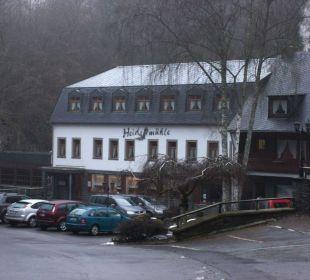 Vorderansicht Hotel Heidsmühle