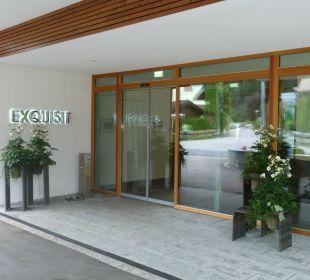 """Eingangsbereich Hotel """"Exquisit"""" Hotel Exquisit"""