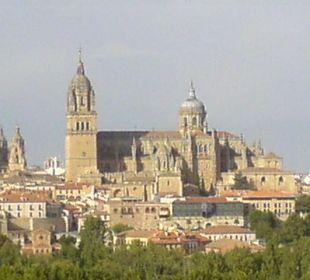Blick aus dem Fenster Hotel Parador de Salamanca