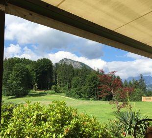 Gartenanlage Alm- & Wellnesshotel Alpenhof