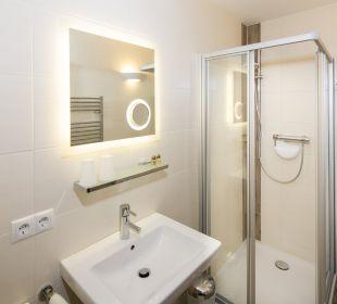 Familiensuite Angerer (74 m2) Dusche/WC Angerer Familienappartements Tirol