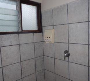Duschbereich Hotel Montana de Fuego