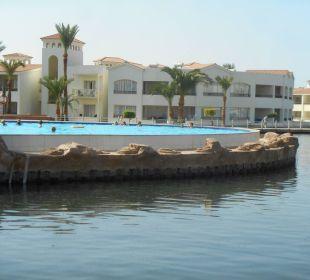 Pool beim Castello in der Salzwasserlagune