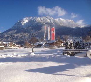 Blick aufs Nebelhorn Parkhotel Frank