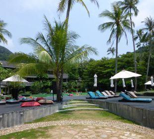 Blick zum Pool Hotel Mercure Koh Chang Hideaway