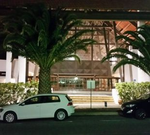 Eingangsbereich am Abend Fuerteventura Princess