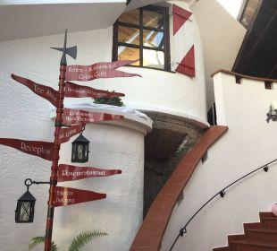 Lobby MIRA Hotel Schloss Rosenegg