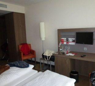 Zimmer InterCityHotel Darmstadt
