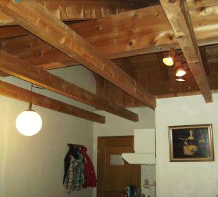 Zimmer im rustikalem Stil unter dem Dach Hotel Pfeiffermühle