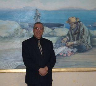 Un directeur qui a la pèche Skanes Family Resort
