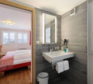 Badezimmer Hotel Berghaus Bort