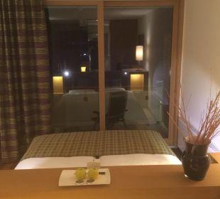 """Blick vom """"Wohnzimmer"""" Hotel Tauern Spa Zell am See-Kaprun"""