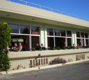Taras przy restauracji Hotel Princess Flora