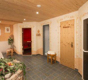 Sauna/Dampfbad Landhaus Rosengartl