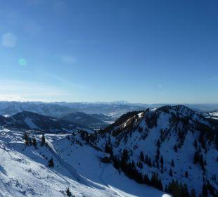 Ein Blick vom Hochgrat WellVital Hotel Tyrol