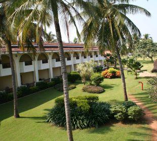 Blick von unserem Balkon Hotel Holiday Inn Resort Goa