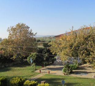 Blick vom Zimmer 107 Hotel Possidona Beach