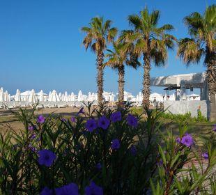 Strand von der Promenade aus gesehen Sensimar Side Resort & Spa
