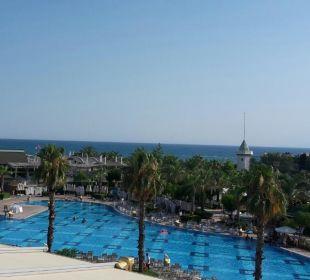 Blick aus dem Hotelzimmer  Hotel Delphin Imperial