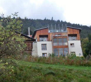 Blick von unten Pension Mairhof