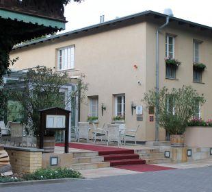 Eingang Relais & Châteaux Hotel Bayrisches Haus