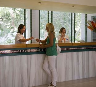 Rezeption Hotel Ola Club Cecilia