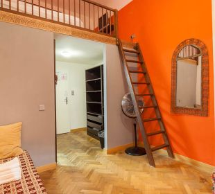 Zimmer Medium inkl. Loftbett Hotel Arte Vida City Residenz