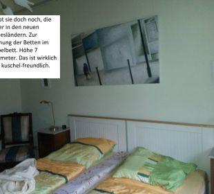 Mauer im Bett Asbach Appartements Weimar