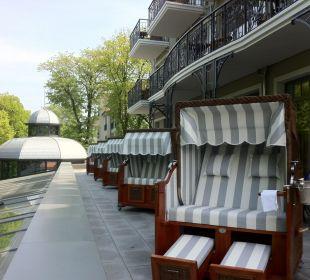 Neue Strandkorbsuite auf Dachterrasse Europa Hotel Kühlungsborn