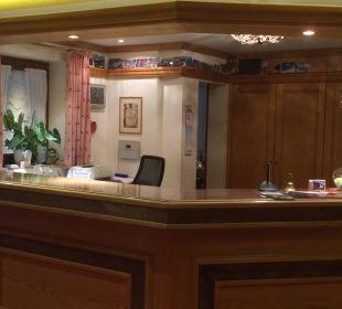 Rezeption WellVital Hotel Tyrol