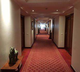Hotelflur 1. OG Hotel Botanico