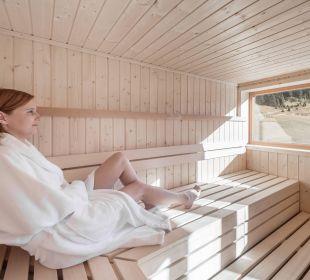 Sauna mit Panormablick Berghotel Marlstein