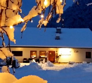 Winterlandschaft Restaurant Cafe Ladurner