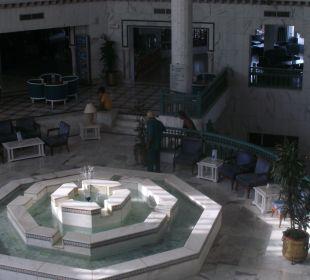 Brunnen im Lobbybereich.