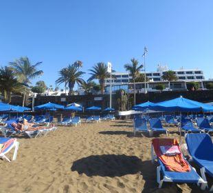 Sehr heisser Sand :-) Bungalows & Appartements Playamar