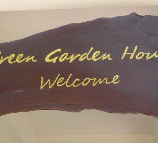 Bei uns ist jeder Gast immer herzlich willkommen. Guest House Green Garden House