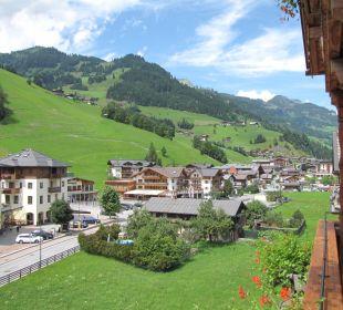 Vom Balkon Hotel Großarler Hof